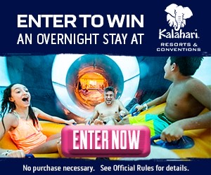 Enter to Win an Overnight Stay!